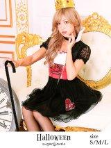 【ハロウィン】2点セット アリスハートの女王コスプレセット☆