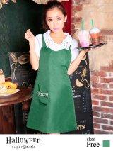 【ハロウィン】☆2点セット 可愛いcoffeeshopシリーズ☆カフェスタッフコスプレセット(jSB1607)