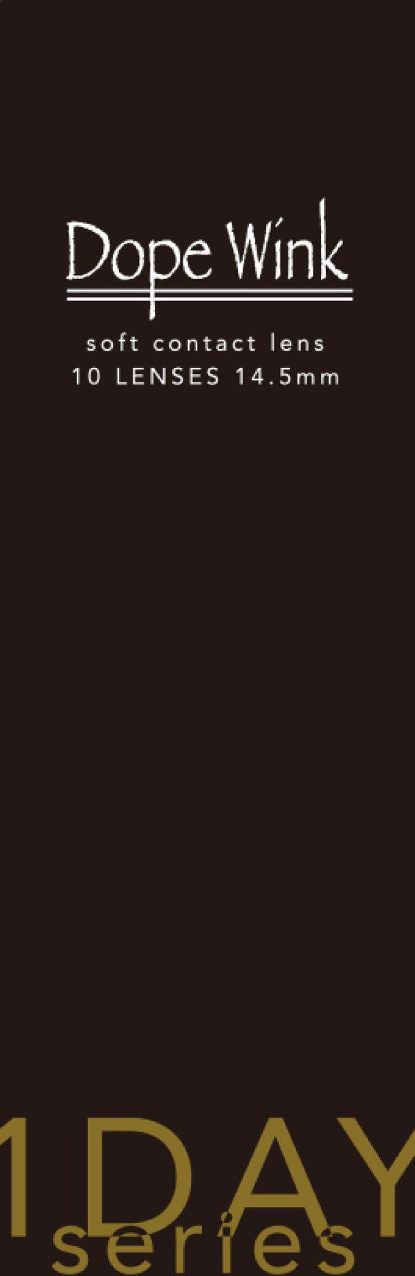 画像4: 【ドープウィンクワンデー グロッシーシリーズ スパイシーグレー 】度なし(1箱10枚入)/1日使い捨てカラーコンタクト【カラコン】
