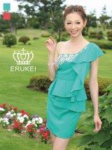 【ERUKEI / Glitter】ワンショル/ぺプラム/タイト/キャバドレス