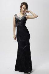 Lサイズあり【Luxe Style/リュクススタイル】ビジュー/フルレース/マーメイド/キャバドレス long