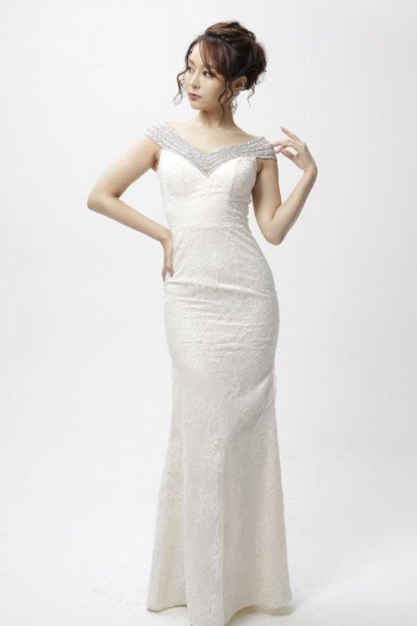 画像2: Lサイズあり【Luxe Style/リュクススタイル】ビジュー/フルレース/マーメイド/キャバドレス long