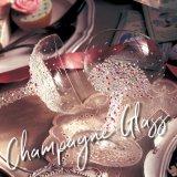 【sugarシャンパングラス】キラキラと光るビジューが散りばめられたシャンパングラス
