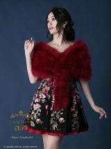 【KANSAI COLLECTION 2019 A/W 出展商品】【couture an】マラボー/ファー/ショール