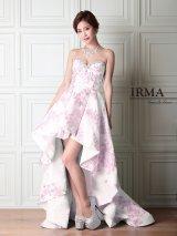 【IRMA/イルマ】フラワー刺繍/ベア/スピンドル/ショートインロング/キャバドレス long