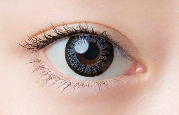 画像2: 【1Day Cara Eyes (ワンデーキャラアイ)】(ヴィヴィッドグレー)度あり/度なし(1箱30枚入り) 1日使い捨てカラーコンタクト【カラコン】