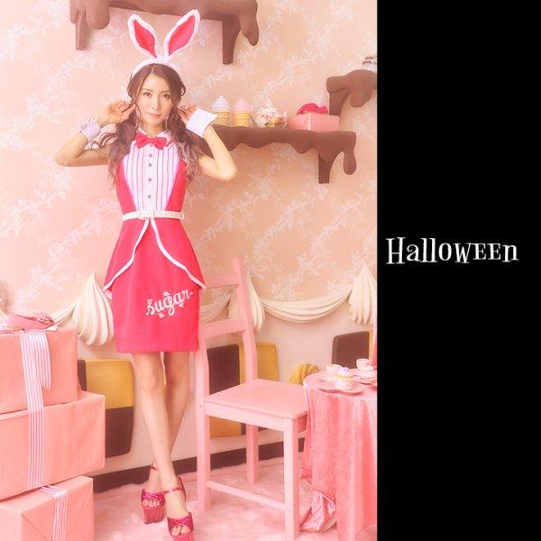 画像2: ピンクドールバニー【ハロウィン5点セット】【S-XLサイズ/1カラー】[HC02]
