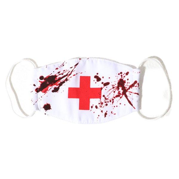 画像4: 血だらけナースマスク【ハロウィン】[OF03]