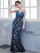 【IRMA/イルマ】フラワー刺繍/ スピンドル/ 総レース/ ロングドレス/ キャバドレス long