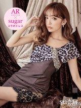 sugar x ARコラボドレス!!・XSサイズあり【Angel R/エンジェルアール】レオパード/ ワンショル/ タイト/ ミニドレス/ キャバドレス