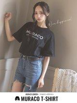 【MURACO×sugar&JEWELS】MURACOLONDON ムラココラボTシャツ/ シンプルロゴデザイン【S-XLサイズ/一部予約商品】