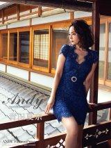 Andy FashionPress 01 COLLECTION 04【ANDY/アンディ】総レース/ ショートスリーブ/ タイト/ ミニドレス/ キャバドレス