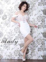 Andy FashionPress 01 COLLECTION 07【ANDY/アンディ】オフショル/ 切替デザイン/ タイト/ ミニドレス/ キャバドレス