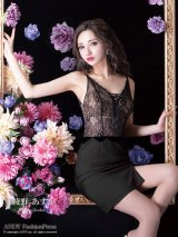 【an ANDY Fashion Press 05 Asuka Ayano - COLLECTION 01】レース/ バストスピンドル/ キャミソール/ タイト/ ミニドレス/ キャバドレス