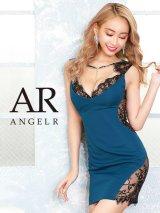 【Angel R/エンジェルアール】ラインビジュー/ レースカッティング/ タイトミニ/ ミニドレス/ キャバドレス