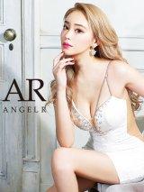 XSサイズあり【Angel R/エンジェルアール】フラワー刺繍/ アシンメトリー/ タイト/ ミニドレス/ キャバドレス