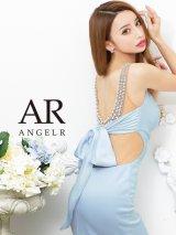 XSサイズあり【Angel R/エンジェルアール】バックパールビジュー/ リボン/ タイト/ ミニドレス/ キャバドレス