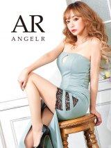 【Angel R/エンジェルアール】スリット/ レースデザイン/ タイト/ ロングドレス/ キャバドレス long