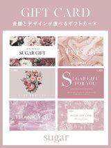 sugar GIFT CARD ギフトカード