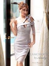 【GLAMOROUS ANDY Fashion Press 05 COLLECTION 01】ワンショル/ バストカットアウト/ レース/ タイト/ ミニドレス / キャバドレス