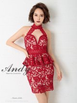 Andy ANDY Fashion Press 06 COLLECTION 03【ANDY/アンディ】総レース/ ペプラム/ アメスリ/ タイト/ ミニドレス/ キャバドレス
