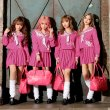 画像3: 【ハロウィン】JKコスプレの必需品!ピンクスクールバッグ[HC02] (3)