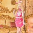 画像3: ピンクドールバニー【ハロウィン5点セット】【S-XLサイズ/1カラー】( WW-016AF)[HC02] (3)