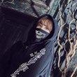 画像7: 黒ギャングコスプレセット【ハロウィン2点セット】[HC02] (7)
